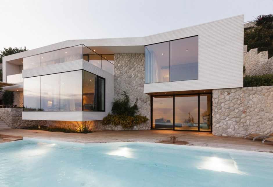 Arquitectura con una personalidad moderna en Dubrovnik, Croacia: Casa V2