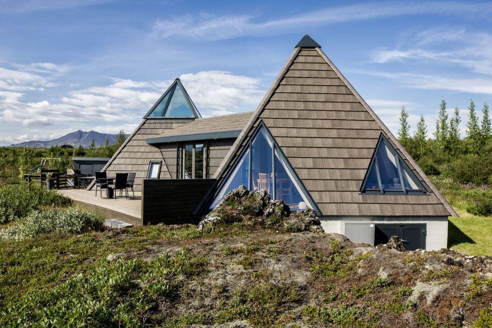 Casa  Pirámide perfecta para comtemplar el paisaje de Islandia
